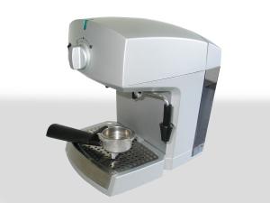 Foto Espressomaschiene mit ABS-Kunststoff als Obermaterial