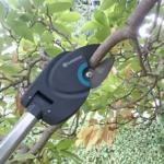 Foto vom Gardena StarCut 160 BL Baumschneider beim Astschnitt