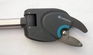 Foto vom Schneidkopf des Gardena StarCut 160 BL Baumschneider