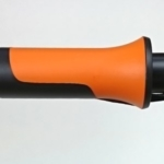 Foto von der oberen Ziehhülse der Fiskars UPX86 Teleskop Schneidgiraffe
