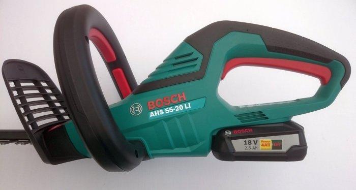 Foto vom Handteil der Bosch AHS 55-20 Li